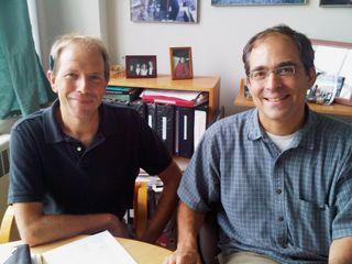 8-21-09_Bill Brosseau and Steve DuBiel