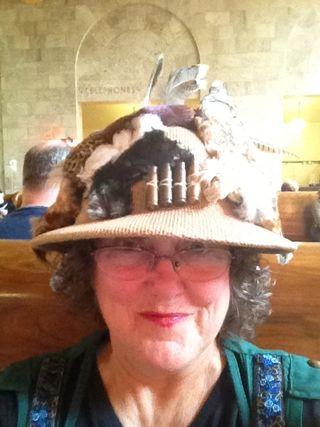 Teri Lenfest Bird Hat